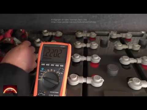 Solar 48 volt Hybrid - Off Grid System. Battery string balance testing