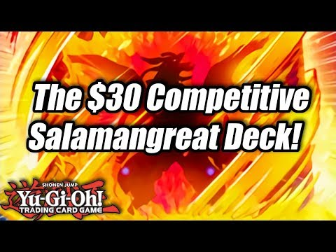 Yu-Gi-Oh! The $30 Competitive Salamangreat Deck Profile!