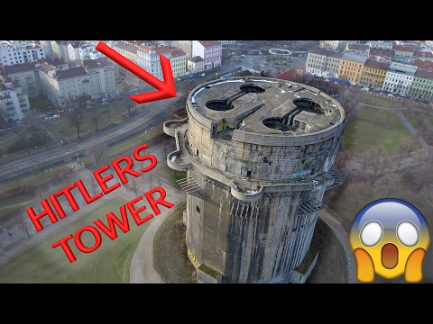 HITLERS TERRIBLE TOWER - Giant World War 2 Anti Aircraft Flak Tower