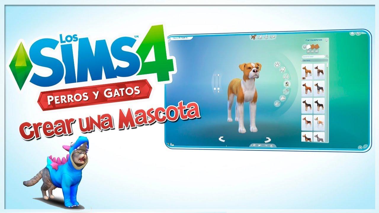 Crear una mascota análisis y reacción | LOS SIMS 4 PERROS Y GATOS ...