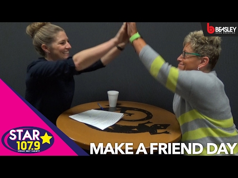 National Make a Friend Day: Aimee interviews potential friends