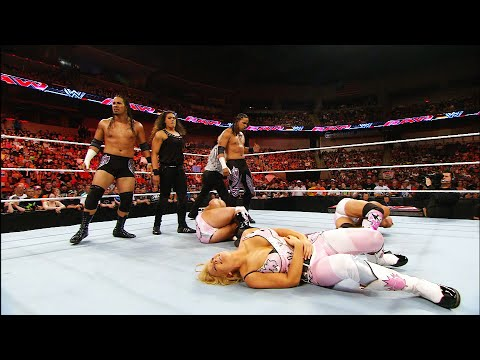 Happy Birthday, Tamina! The Usos and Tamina make their WWE Debut: Raw, May 24, 2010