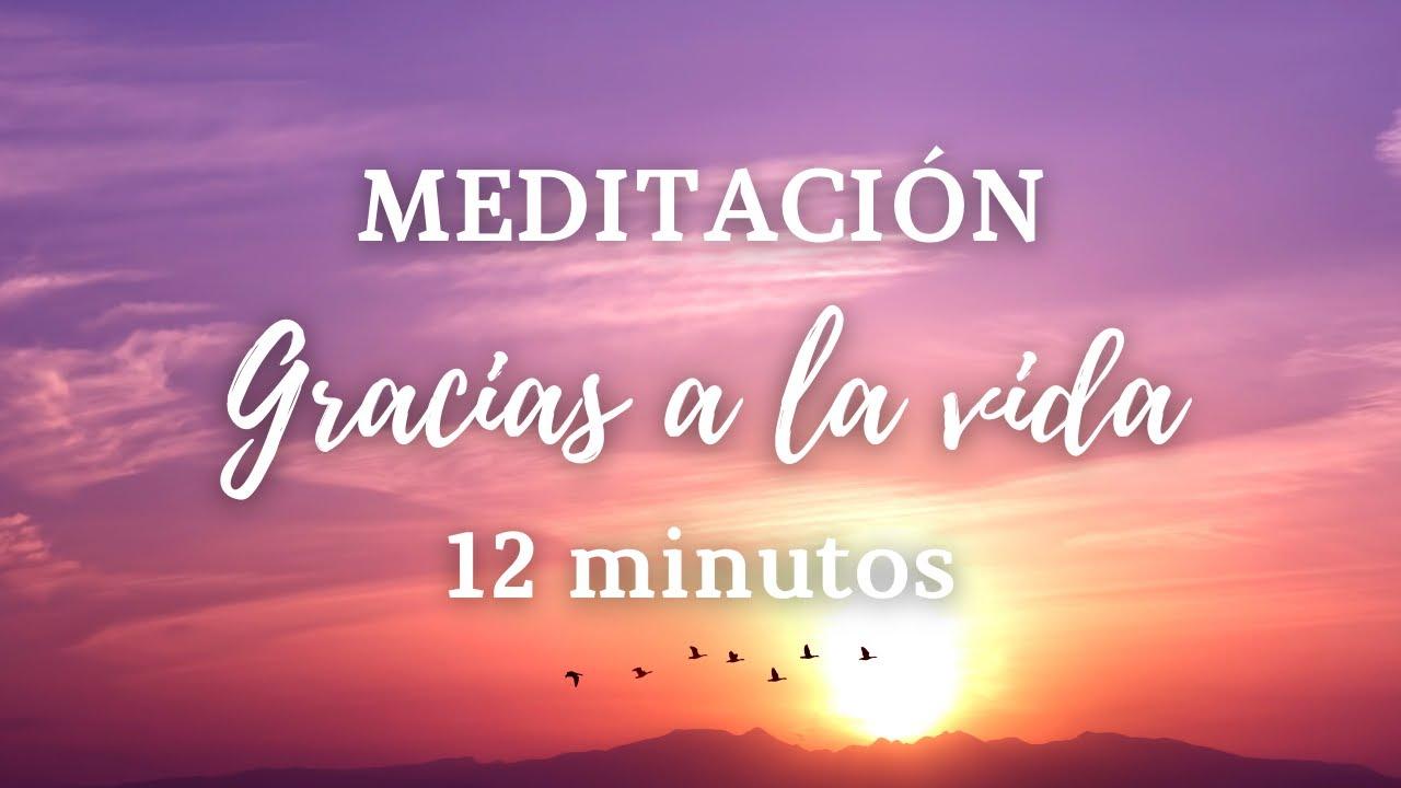 🌸 Meditación Guiada GRACIAS a la VIDA    Conecta con la GRATITUD 🌸