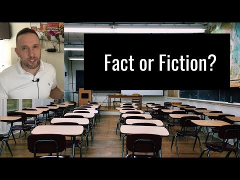 Fact Or Fiction: Public School Teaching Jobs In The US