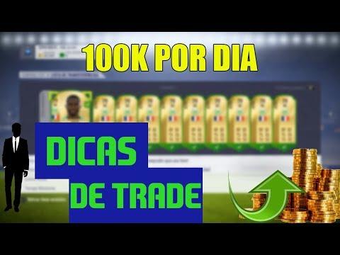 100K POR DIA - Dicas de Trade FIFA 18 UT