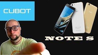 телефон Cubot Note S Распаковка и первые впечатления. БЕЗ ТАБЛЕТОК!