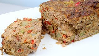 Vegetable & Herb Meatloaf