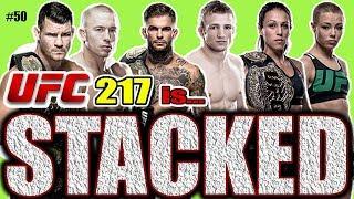🔴 UFC 217 IS STACKED!! JON JONES NO CONTEST! thumbnail