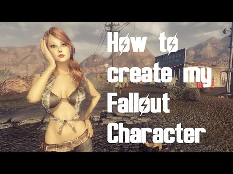 Fallout New Vegas - How to create my character Tutorial