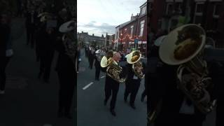 Middleton band Whit Friday 2017 Heyrod Death or Glory