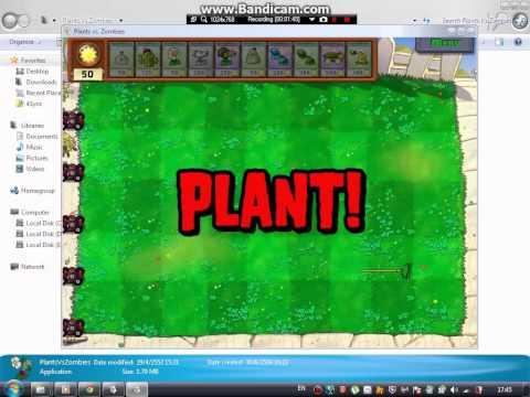 สูตร plants vs zombie