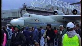 Beriev A 40 Albatross Airplane Display New Zealand 1992.