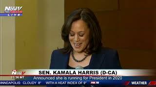 WATCH: Senator Kamala Harris Is Running For President in 2020