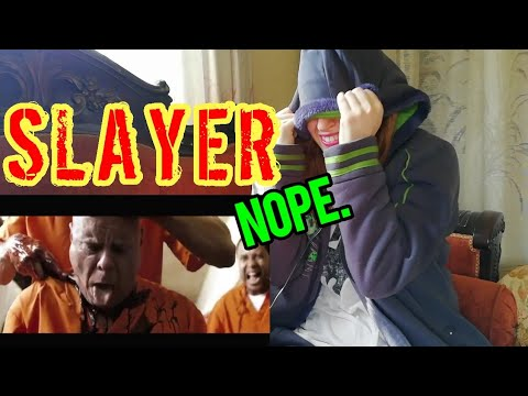 KPOP FAN REACTION TO SLAYER! (NOPE.)