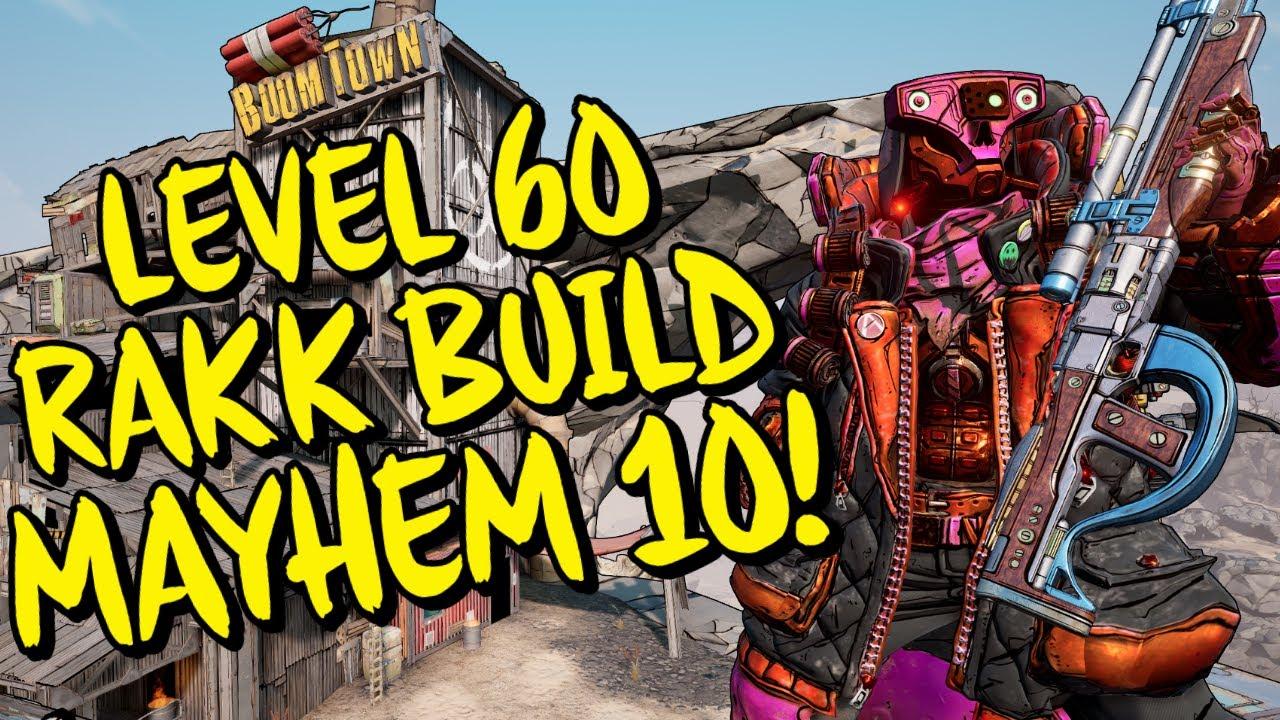 Borderlands 3 Level 60 Best Rakk Attack FL4K Build (Mayhem 10) Kills every boss in seconds!