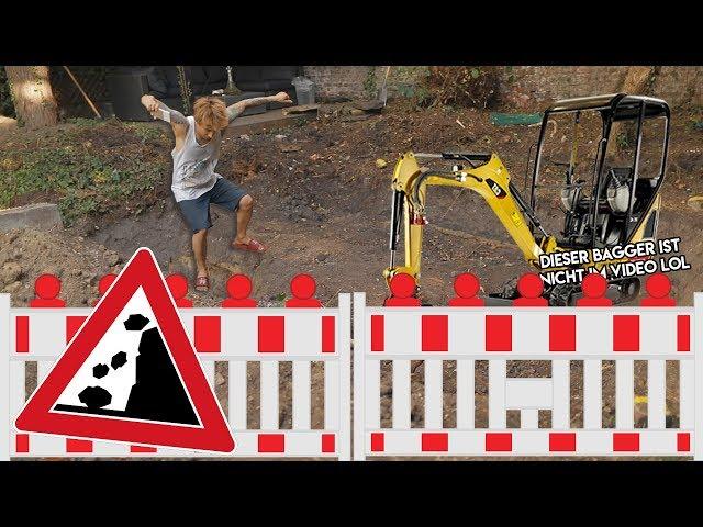 WIR dachten ein SWIMMINGPOOL bauen macht spaß