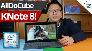 Alldocube KNote 8 Unboxing, Hands On, Quick Review!
