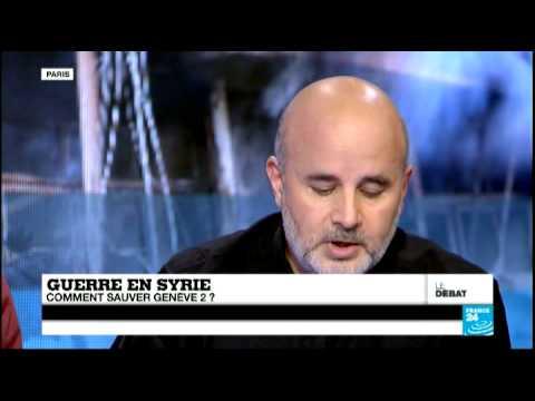 """""""Aller à Genève est une mascarade"""", dit Ammar Abd Rabbo - #DébatF24"""