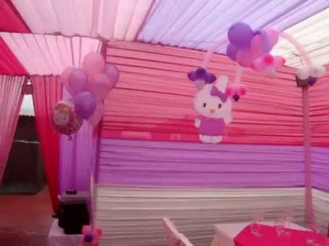 DECORACION HELLO KITTY - YouTube
