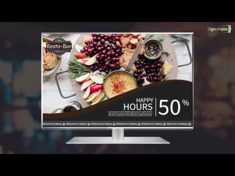 Digital Promotion ร้านอาหารทั่วไป - SignMate.co
