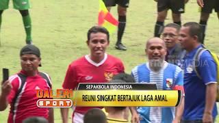 Timnas All Star vs PSPS All Star Reuni Bertajuk Laga Amal GALERI SPORT