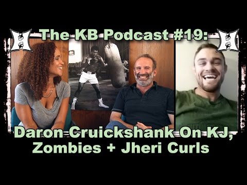 MMA HEAT Podcast #19: Daron Cruickshank Talks UFC, Zombies + Jheri Curls