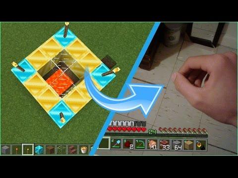 El portal que te hara llevar el minecraft a la vida real for Videos de minecraft en la vida real