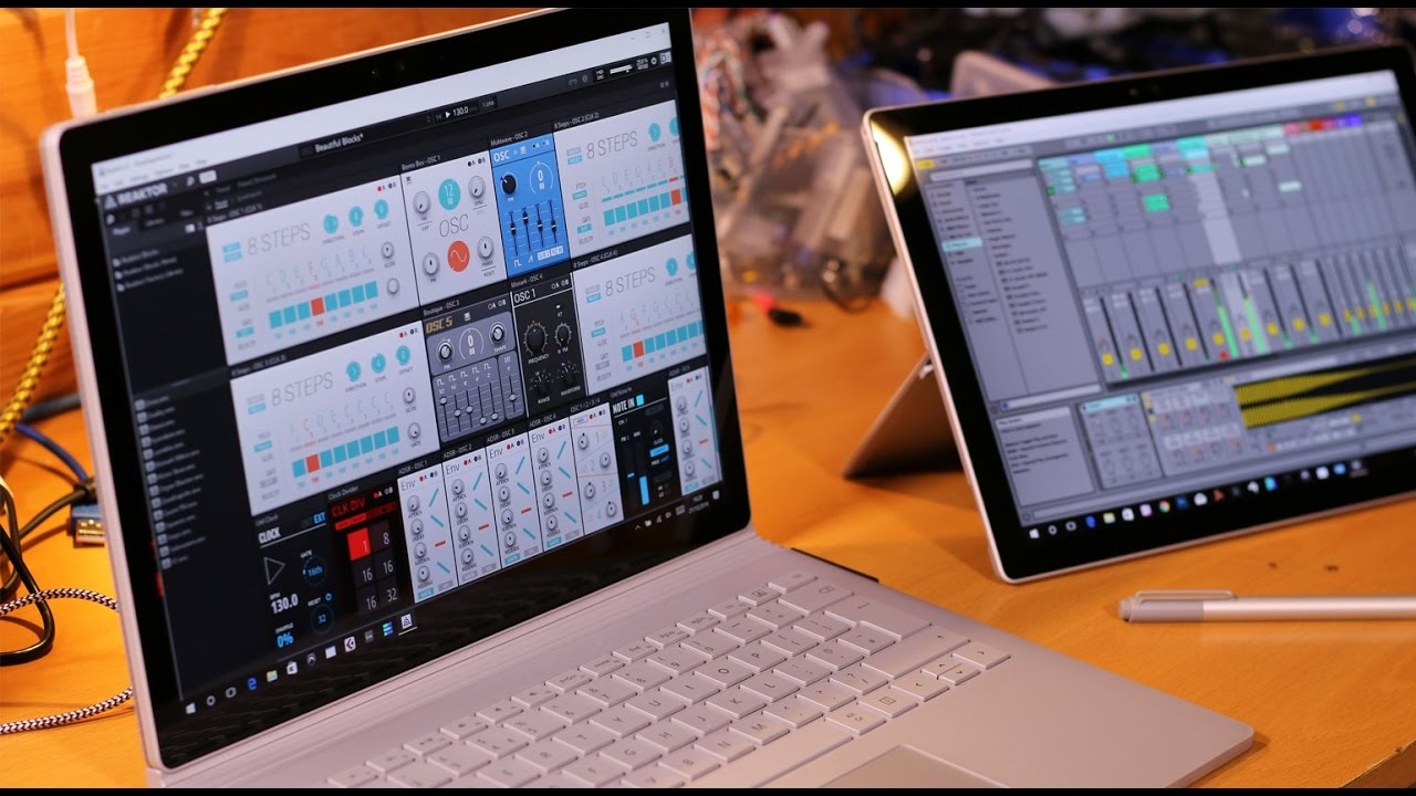 Surface Session Ep12 - Ableton Link with Reaktor 6 1