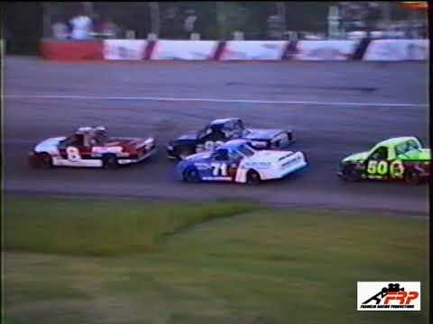 Madison Speedway Oregon WI Mid West Trucks 7 25 99