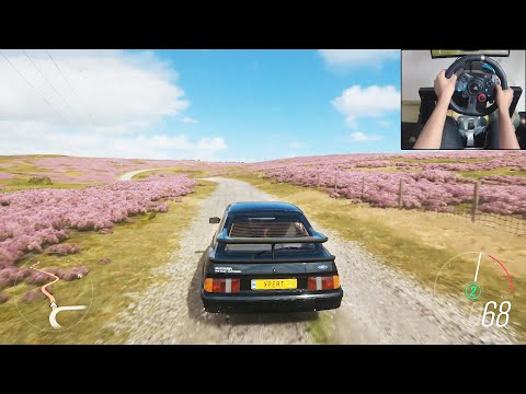 Ford Sierra Cosworth RS500 - Forza Horizon 4 | Logitech g29 gameplay thumbnail