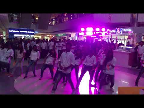 Rajagiri Flash Mob at Oberon Mall