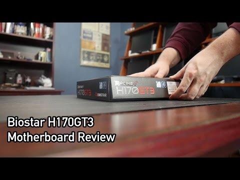 Biostar H170GT3 Motherboard Review