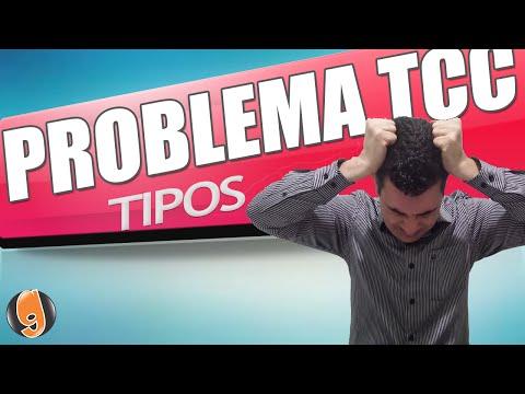 COMO FAZER O PROBLEMA DE PESQUISA - TIPOS DE PROBLEMAS TCC