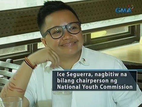 Saksi: Ice Seguerra, nagbitiw na bilang chairpeson ng NYC