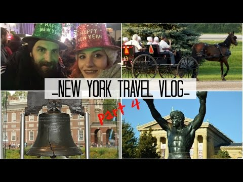 Travel Vlog | Trip to Philadelphia and New Year in Times Square! | Days (10-11-12 ) Part 4/4