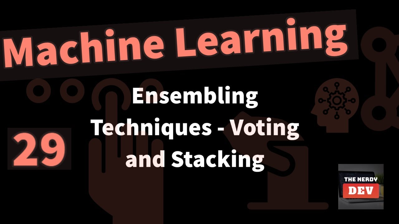 Ensembling Techniques - Voting (Majority Voting & Weighted Voting), Averaging & Stacking