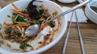 제주여행 52 성게비빔밥