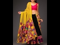 Modern New Arrivals  Fashionable Women Lehenga with Crop tops
