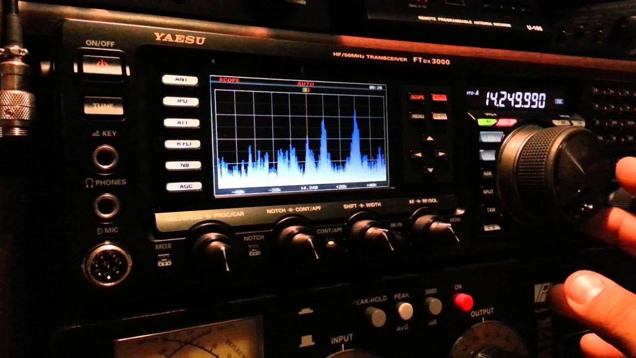 Yaesu ftdx3000 new full screen spectrum scope doovi for Ft 3000