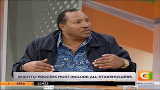 Waititu now says owners of buildings on riparian land are victims #DayBreak