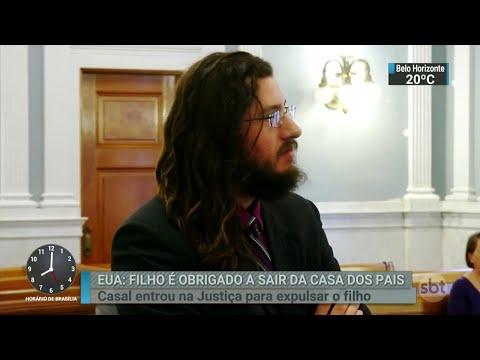 Casal entra na Justiça para obrigar filho de 30 anos sair de casa | SBT Brasil (23/05/18)