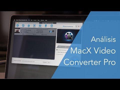 Convierte archivos de video con MacX Video Converter Pro