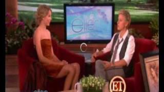 In the Ellen DeGeneres show!