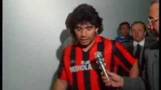 """""""questa maglia è di un grandissimo giocatore, io penso che franco baresi il massimo come difensore, questo ricordo me lo porterò per tutta la vita..."""