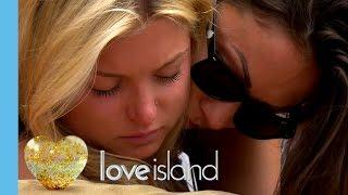 Zara Emotionally Leaves The Island | Love Island 2016