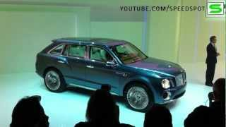 Bentley EXP 9 F SUV Concept Videos