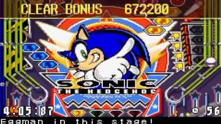 Sonic Pinball Party part 2 Sonic vs Evil Tails