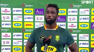 Siya Kolisi disappointed with his side's discipline in the defeat to the Lions.