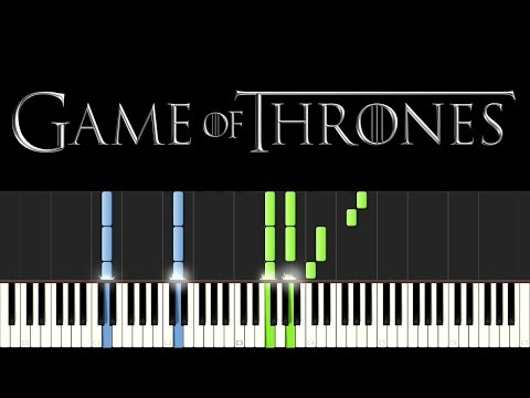 Game of Thrones - Mhysa (Piano Tutorial - Synthesia) [+ sheets]