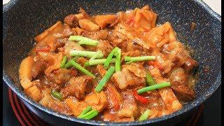 Cách làm Thịt Kho Măng đậm đà ngon cơm cho cả nhà